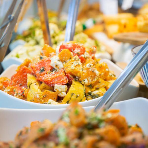 Bespoke food in the deli