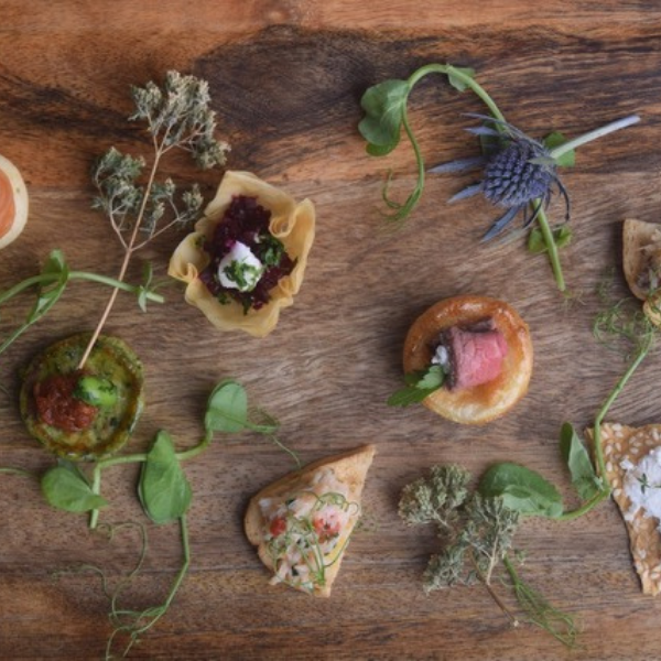 Canapés for events