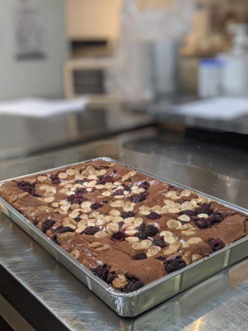 Brownies takeaway