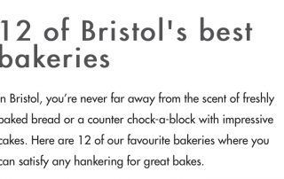 Bristol's Best bakeries